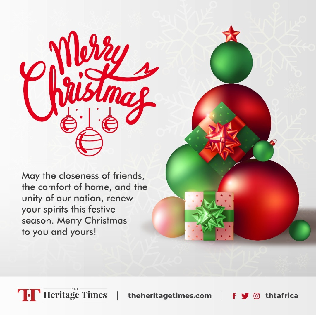 Christmas Greetings From The Heritage Times