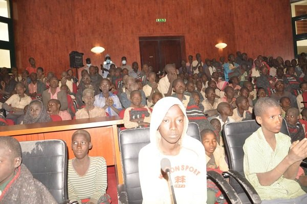PHOTOS: Governor Masari receives 344 rescued Kankara Boys