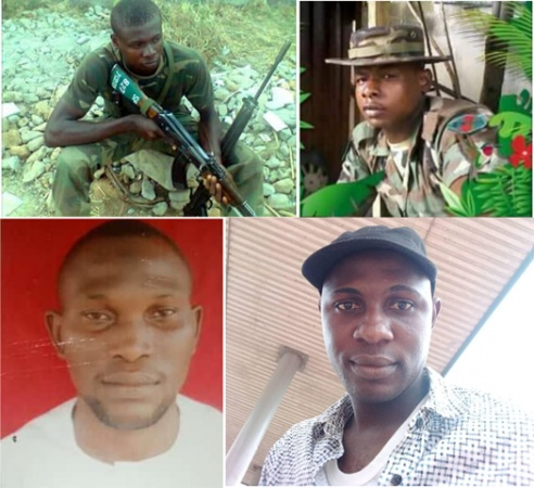 Six Soldiers Secretly Executed in Abuja SEE PHOTOS