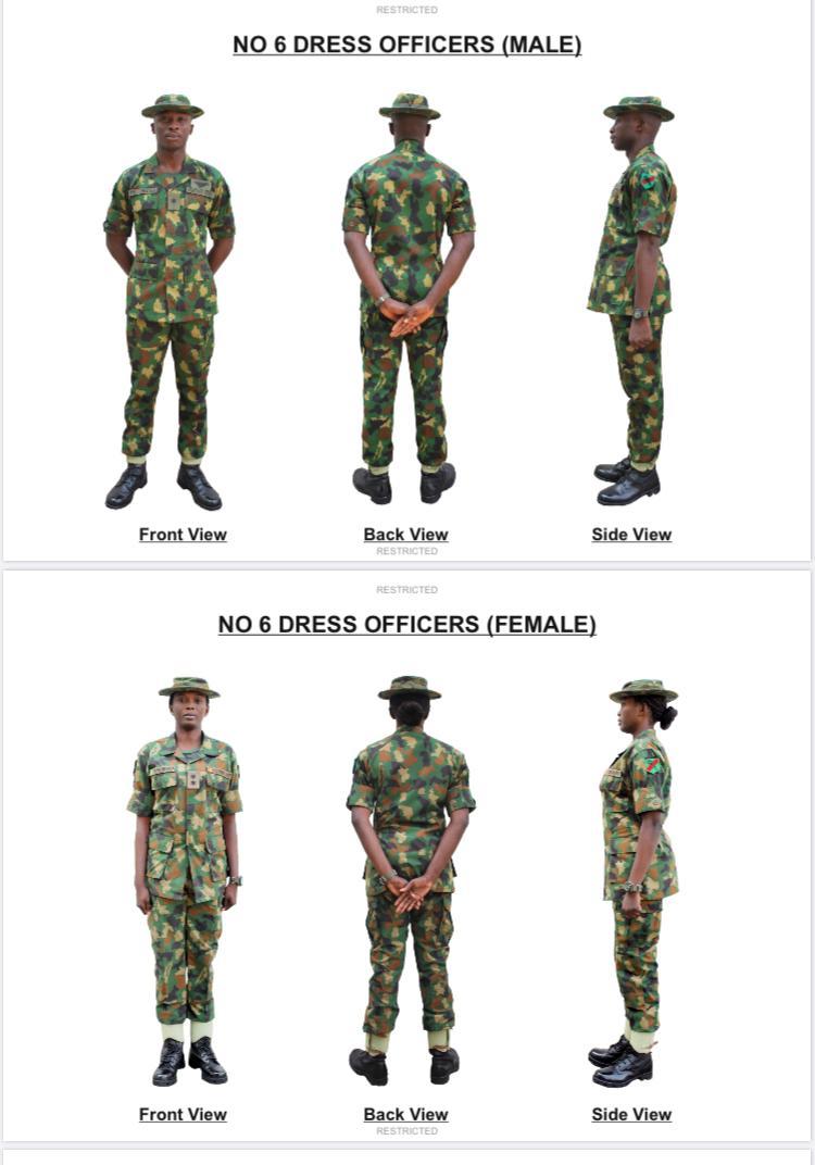 Nigerian Army Gets New Dress Code