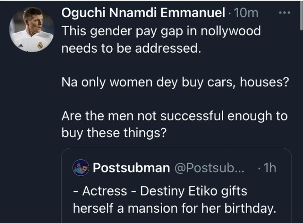 """""""Only Actresses Dey Buy Cars, Houses"""" Reactions Trail Destiny Etiko's New Mansion"""