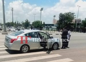 How Nigeria's Vehicle Inspection Body Constitute Nuisance In Front Of Presidential Villa And Abuja Environs